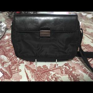 Tessutoro Prada Bag W/Leather Trim
